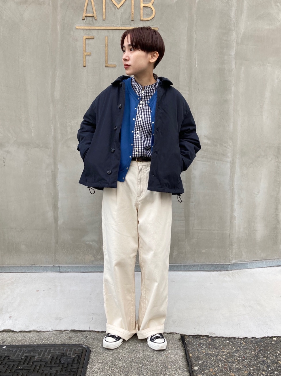 - PAR ICI FLAT AMB 名古屋栄路面 身長:156cm 2020.12.18