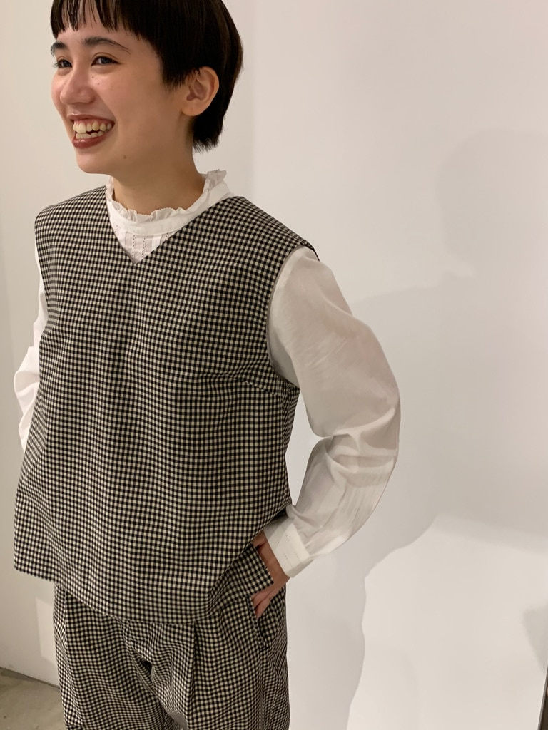 - PAR ICI FLAT AMB 名古屋栄路面 身長:156cm 2020.09.30