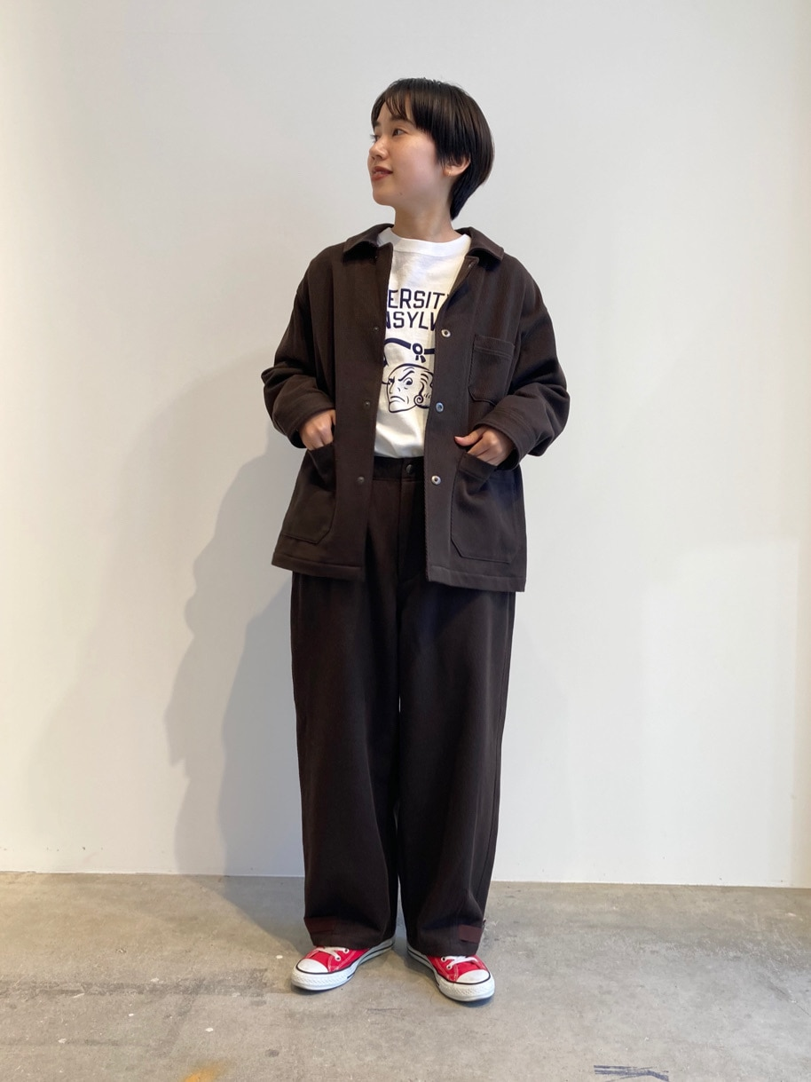 - PAR ICI FLAT AMB 名古屋栄路面 身長:156cm 2020.11.02