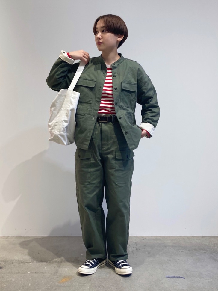 - PAR ICI FLAT AMB 名古屋栄路面 身長:156cm 2021.02.13
