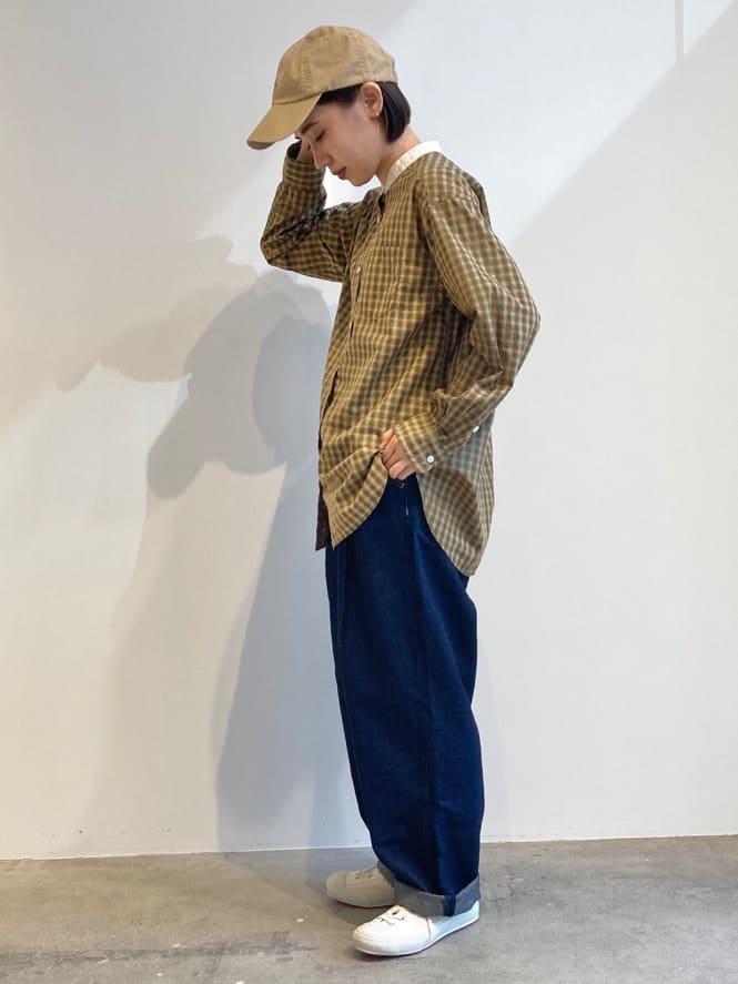 - PAR ICI FLAT AMB 名古屋栄路面 身長:156cm 2021.09.14