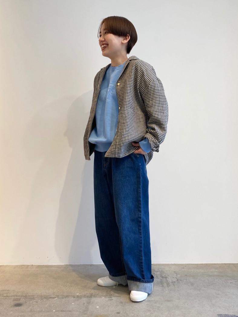 - PAR ICI FLAT AMB 名古屋栄路面 身長:156cm 2021.02.12