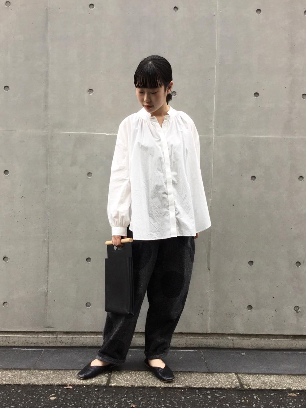 l'atelier du savon 代官山路面 身長:153cm 2020.09.09
