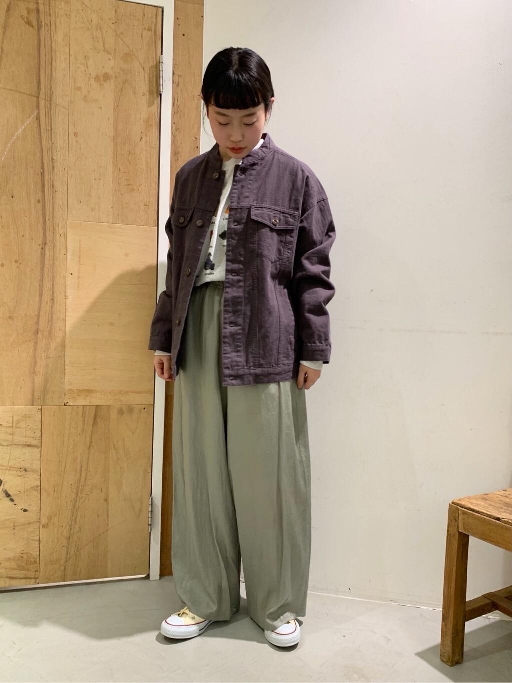 l'atelier du savon 新宿ミロード 身長:153cm 2021.02.24