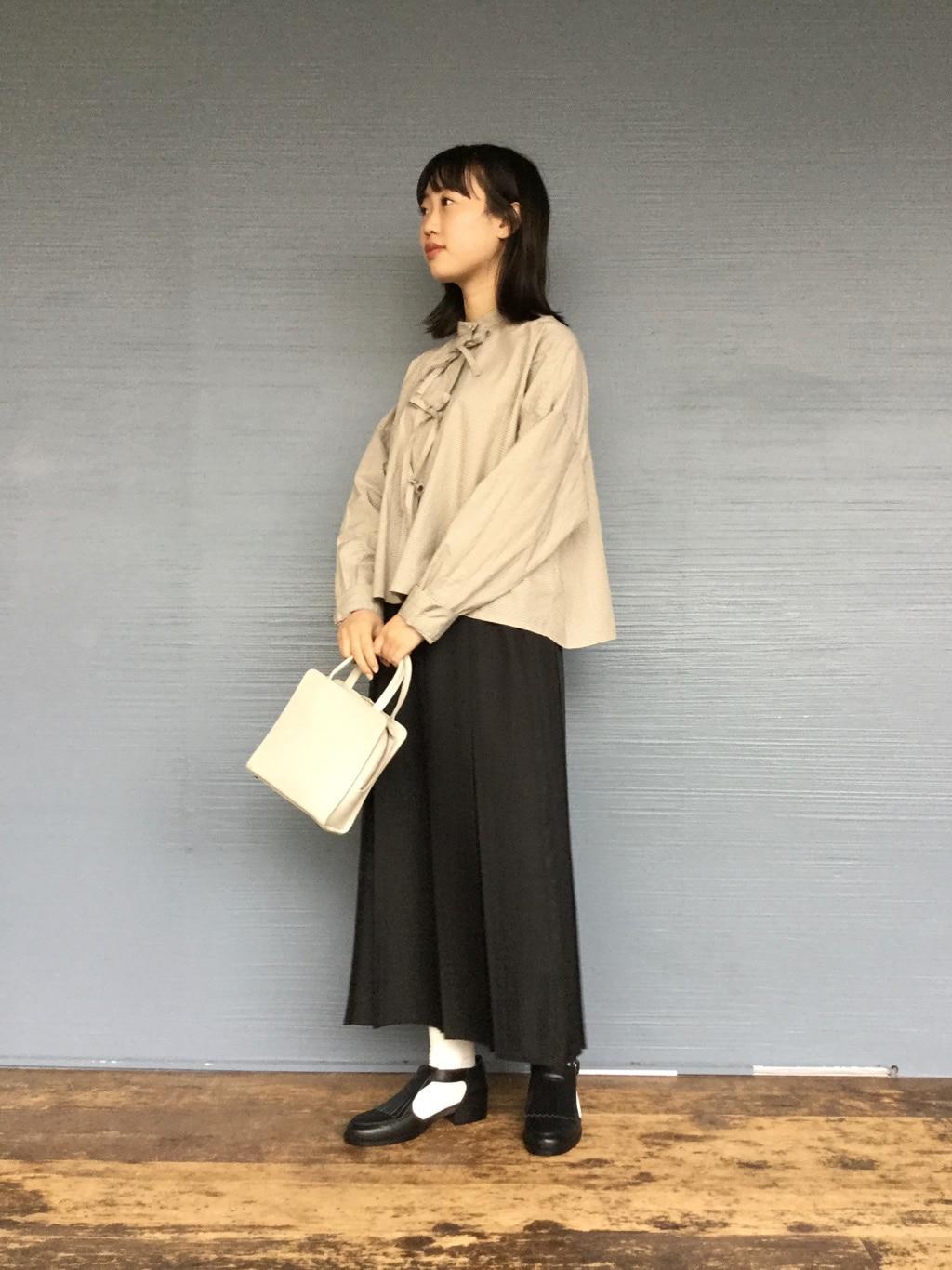 l'atelier du savon 代官山路面 身長:153cm 2020.09.28
