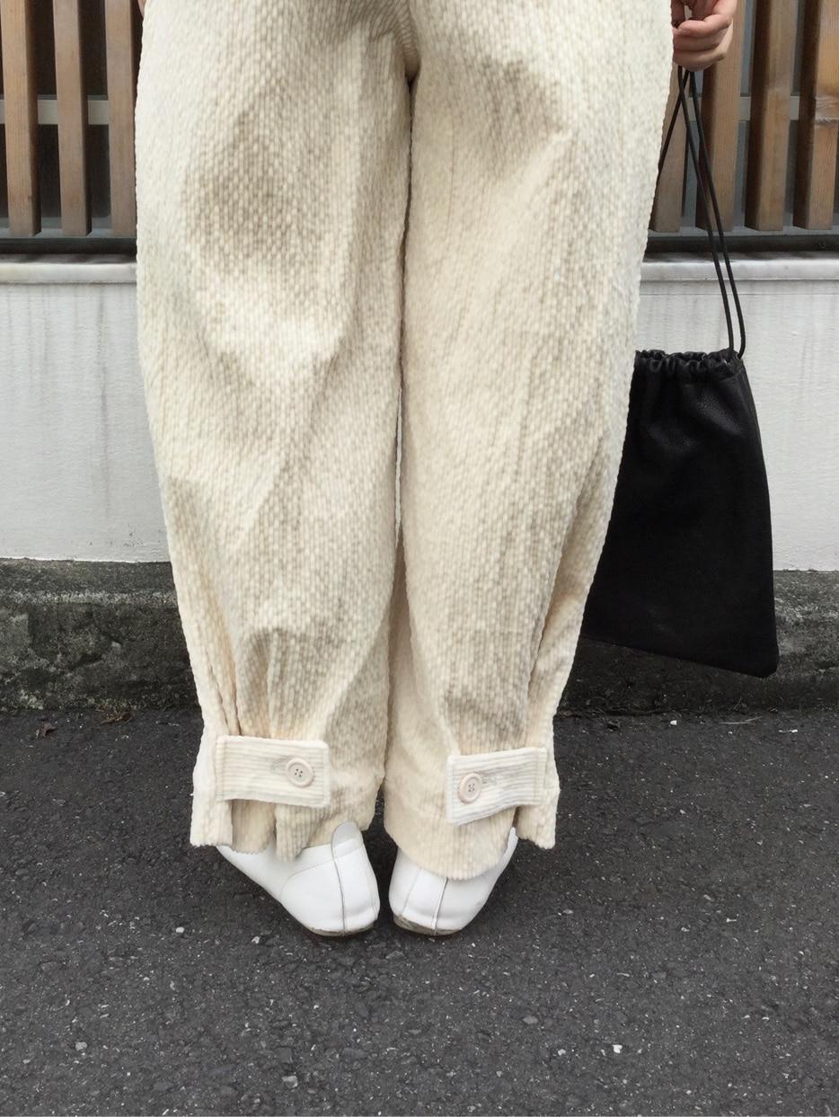 l'atelier du savon 代官山路面 身長:153cm 2020.09.16