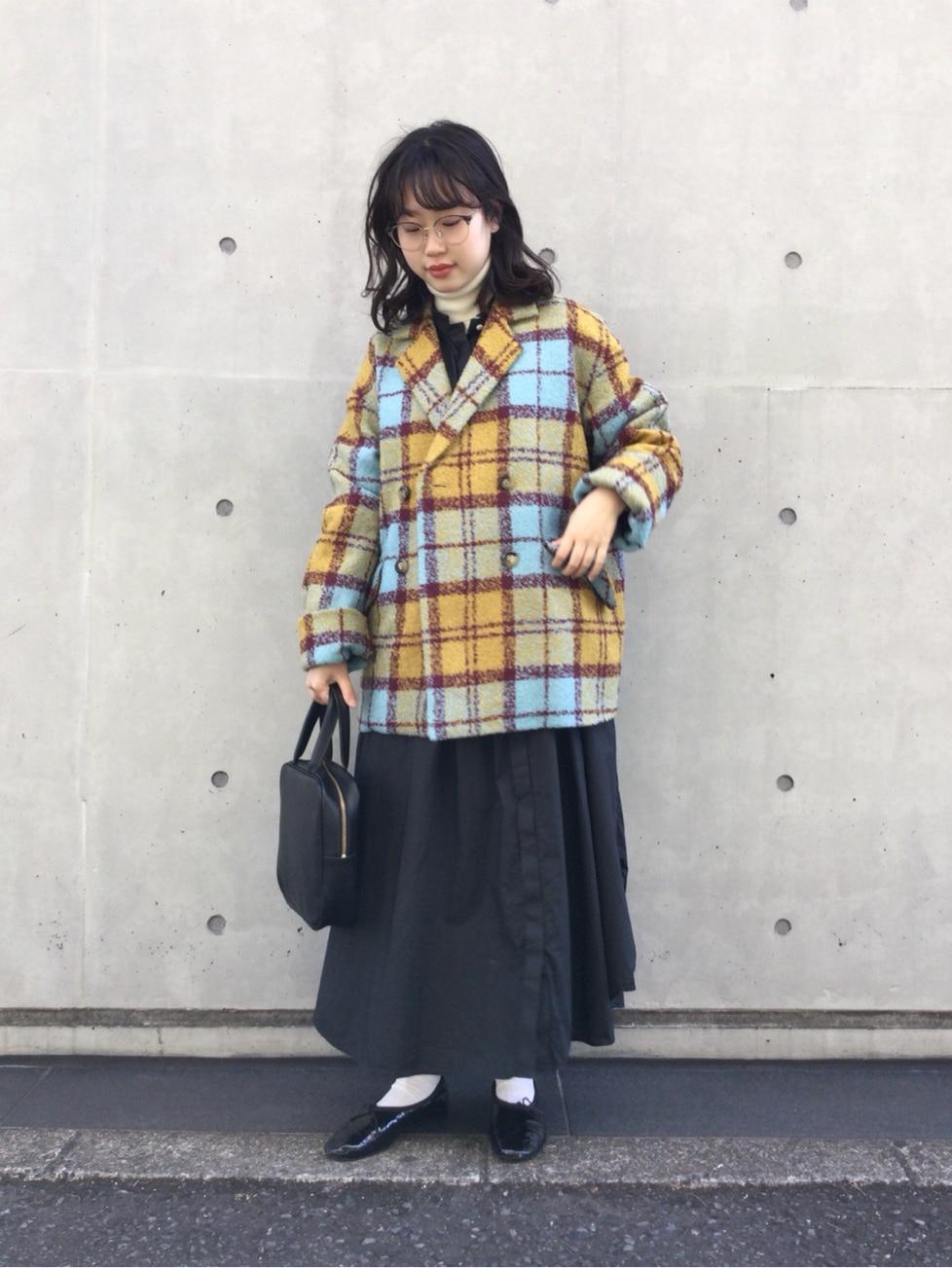 l'atelier du savon 代官山路面 身長:153cm 2020.11.25