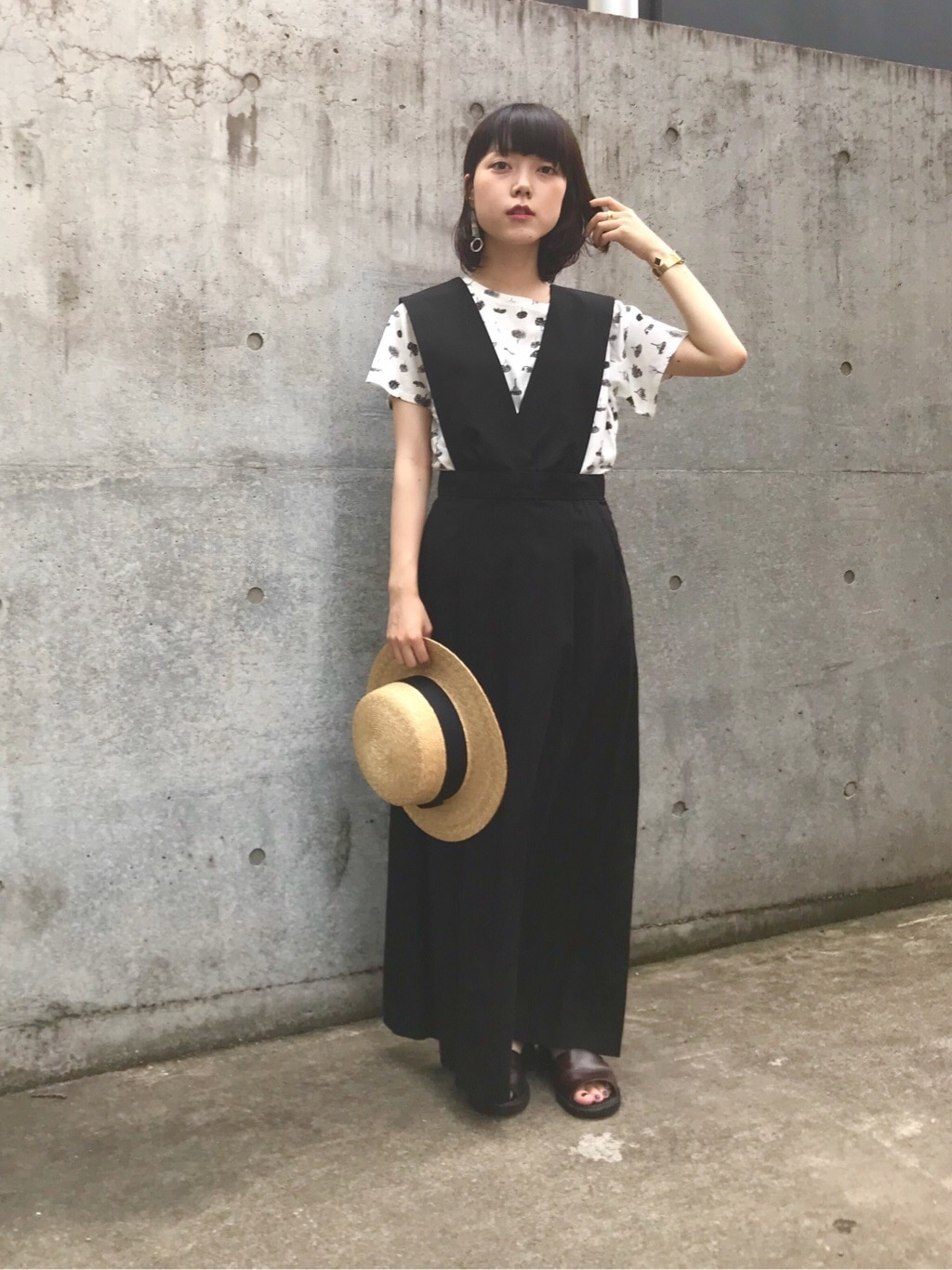 bulle de savon 中目黒路面 身長:153cm 2019.07.25