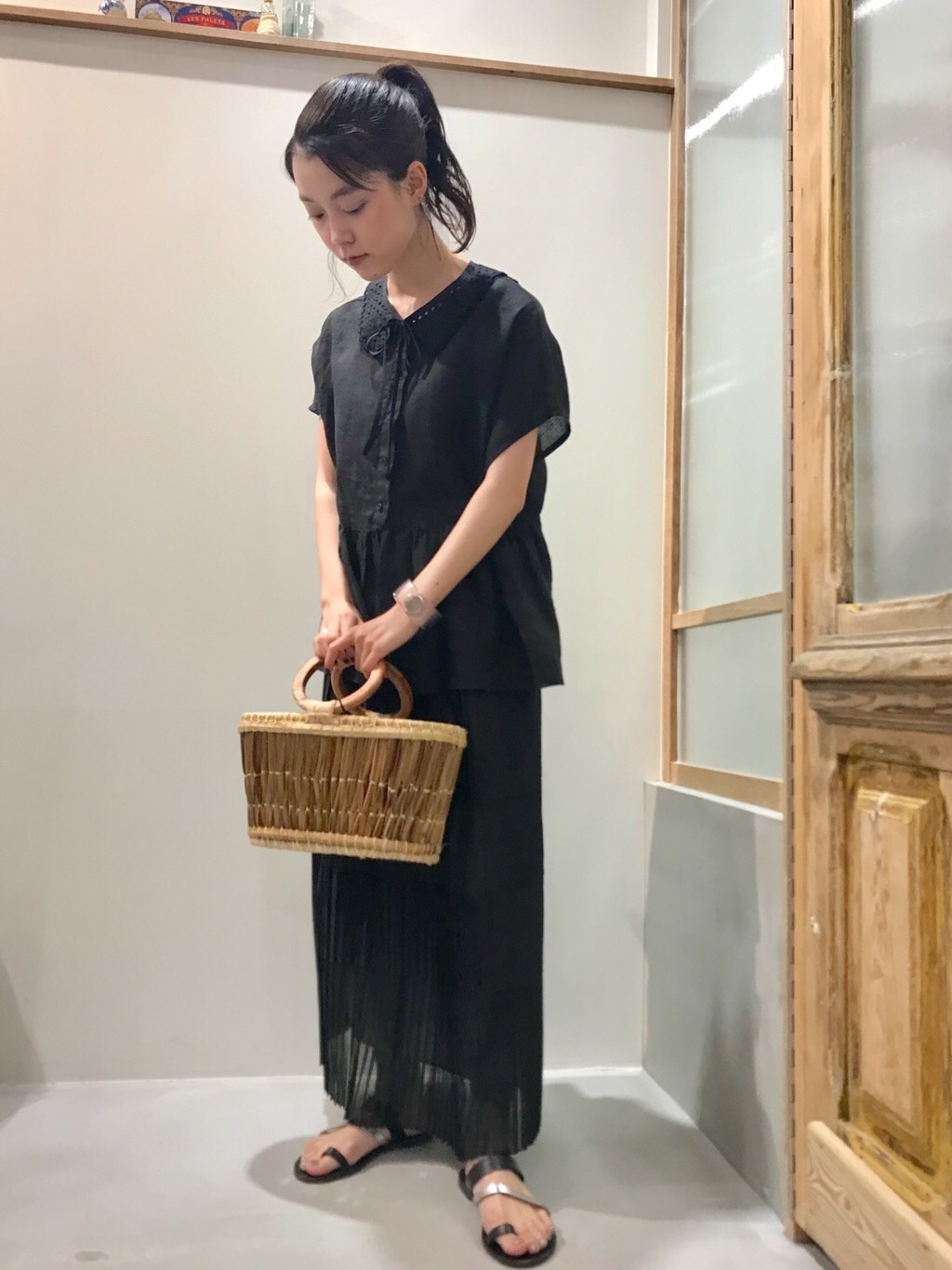 bulle de savon 渋谷スクランブルスクエア 身長:153cm 2020.08.19