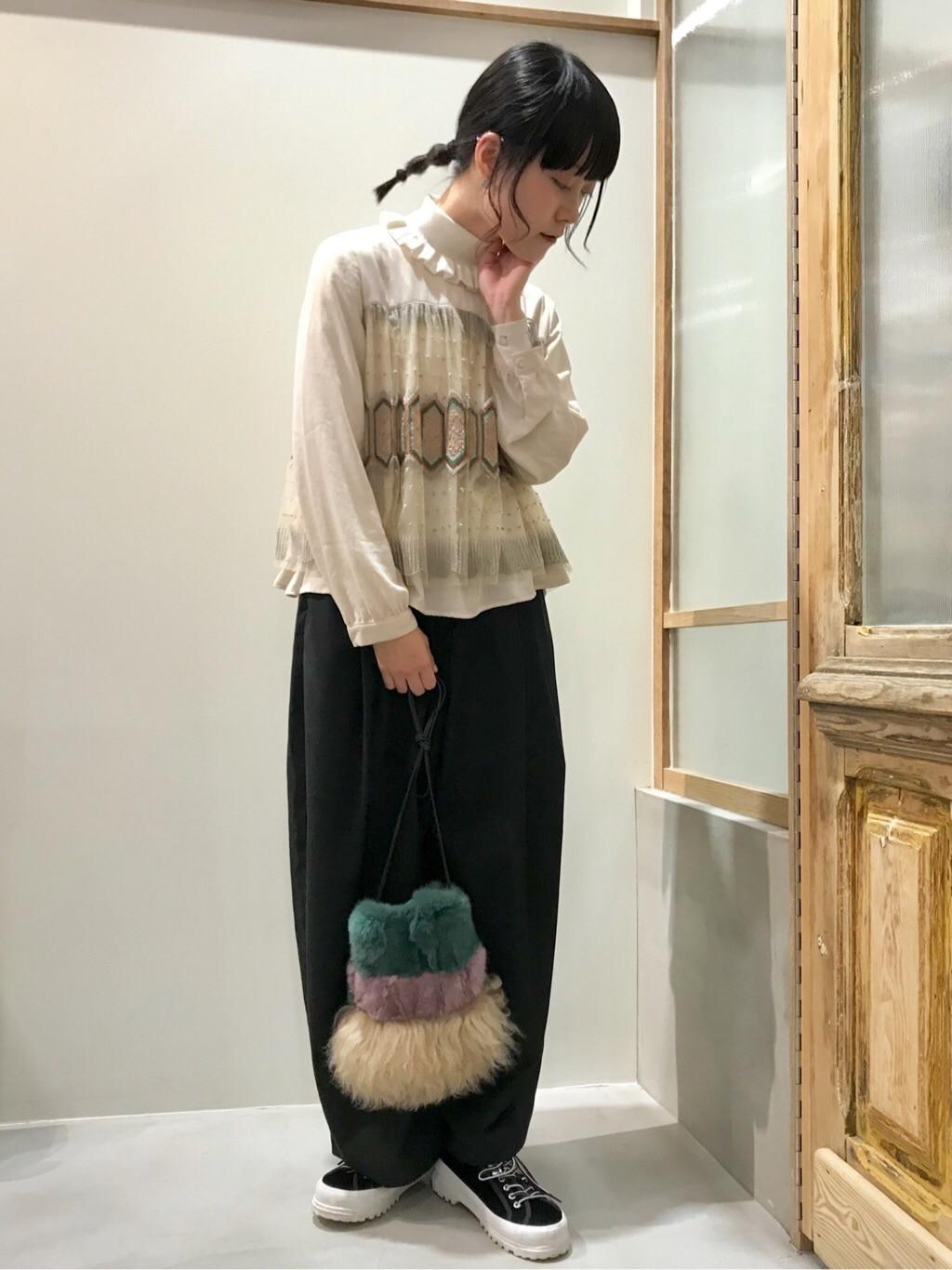 bulle de savon 渋谷スクランブルスクエア 身長:153cm 2019.12.24