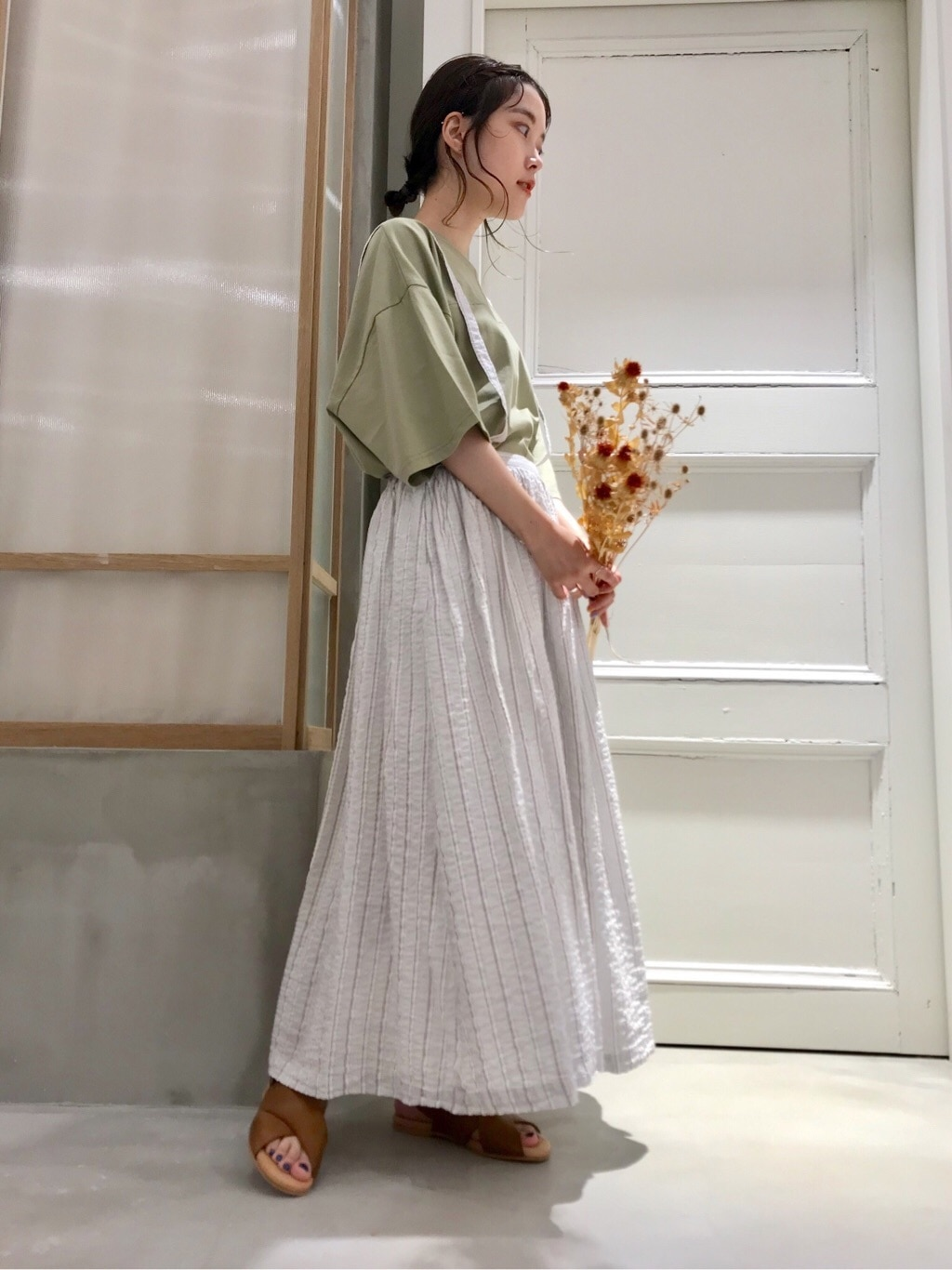 bulle de savon 渋谷スクランブルスクエア 身長:153cm 2020.07.23