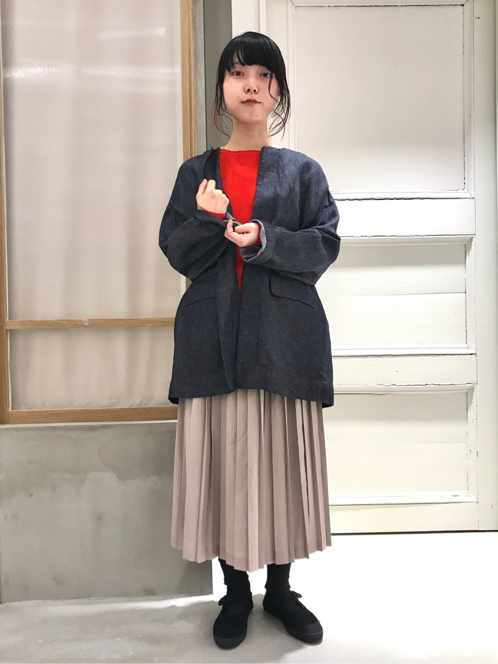 bulle de savon 渋谷スクランブルスクエア 身長:153cm 2020.02.19