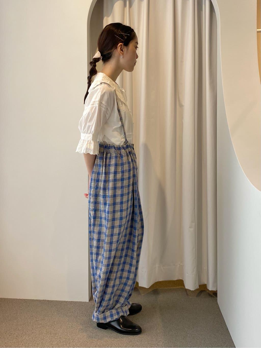 - l'atelier du savon circle in circle ラフォーレ原宿 身長:153cm 2021.06.28