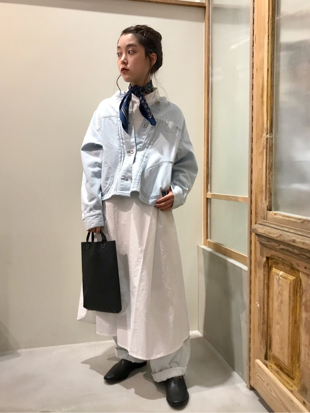 bulle de savon 渋谷スクランブルスクエア 身長:153cm 2020.09.02