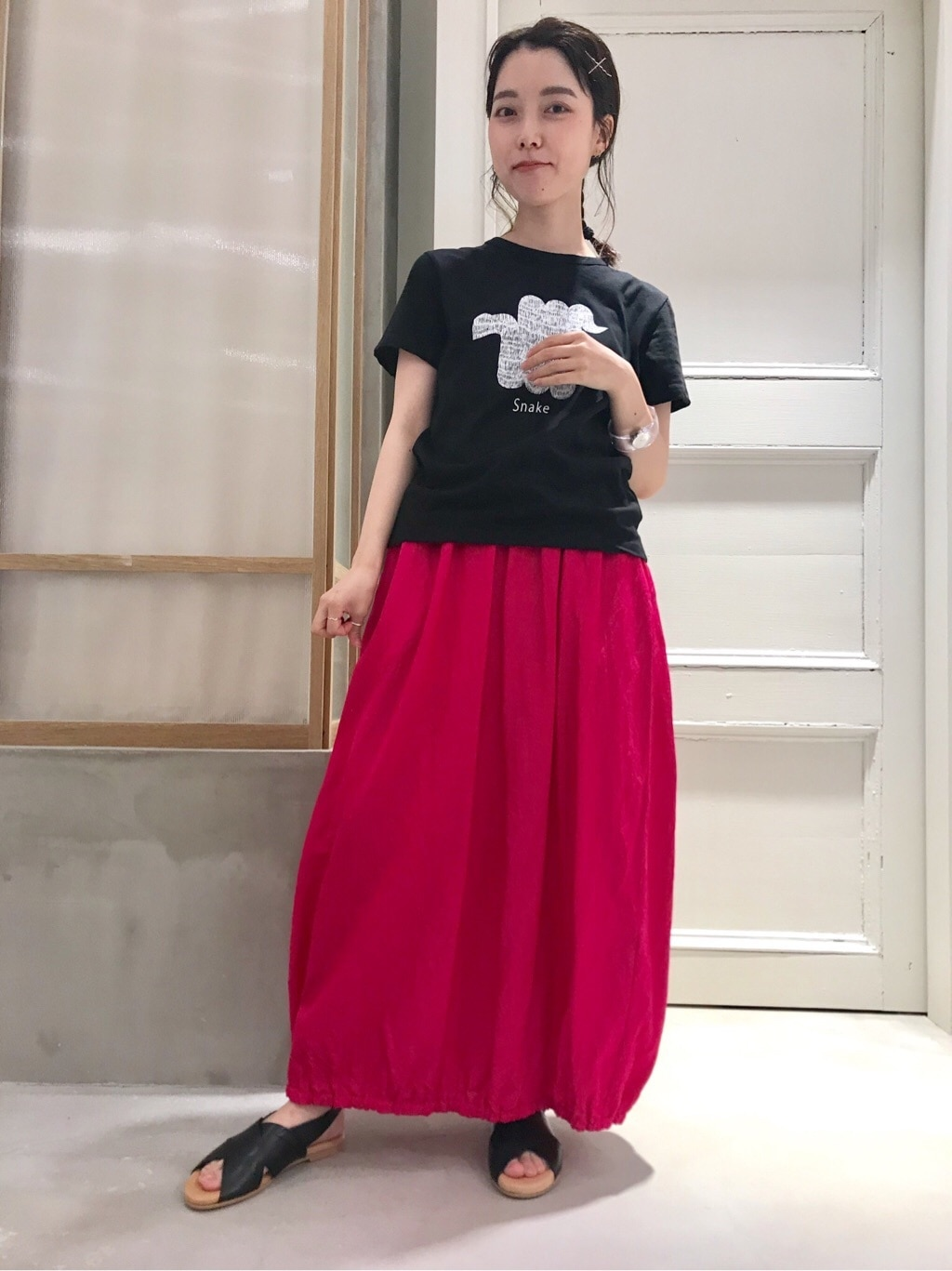 bulle de savon 渋谷スクランブルスクエア 身長:153cm 2020.07.15