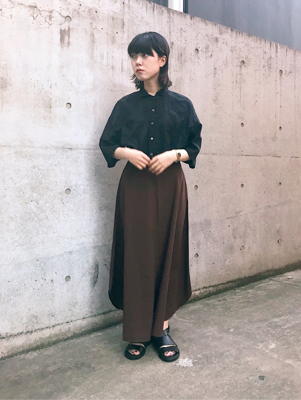 bulle de savon 中目黒路面 身長:153cm 2019.07.29