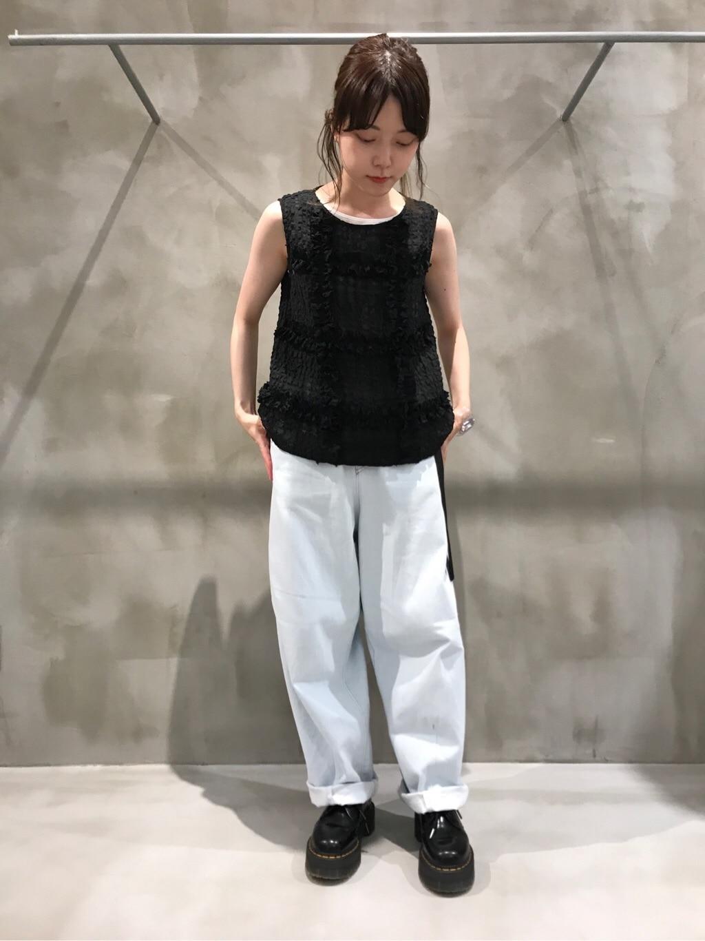bulle de savon 渋谷スクランブルスクエア 身長:153cm 2020.07.03