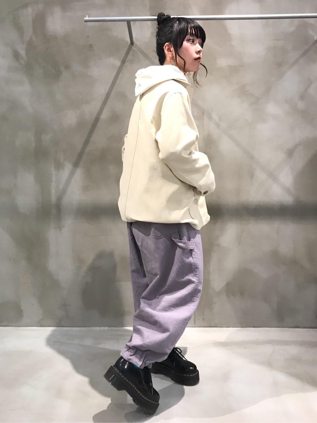 bulle de savon 渋谷スクランブルスクエア 身長:153cm 2020.03.24