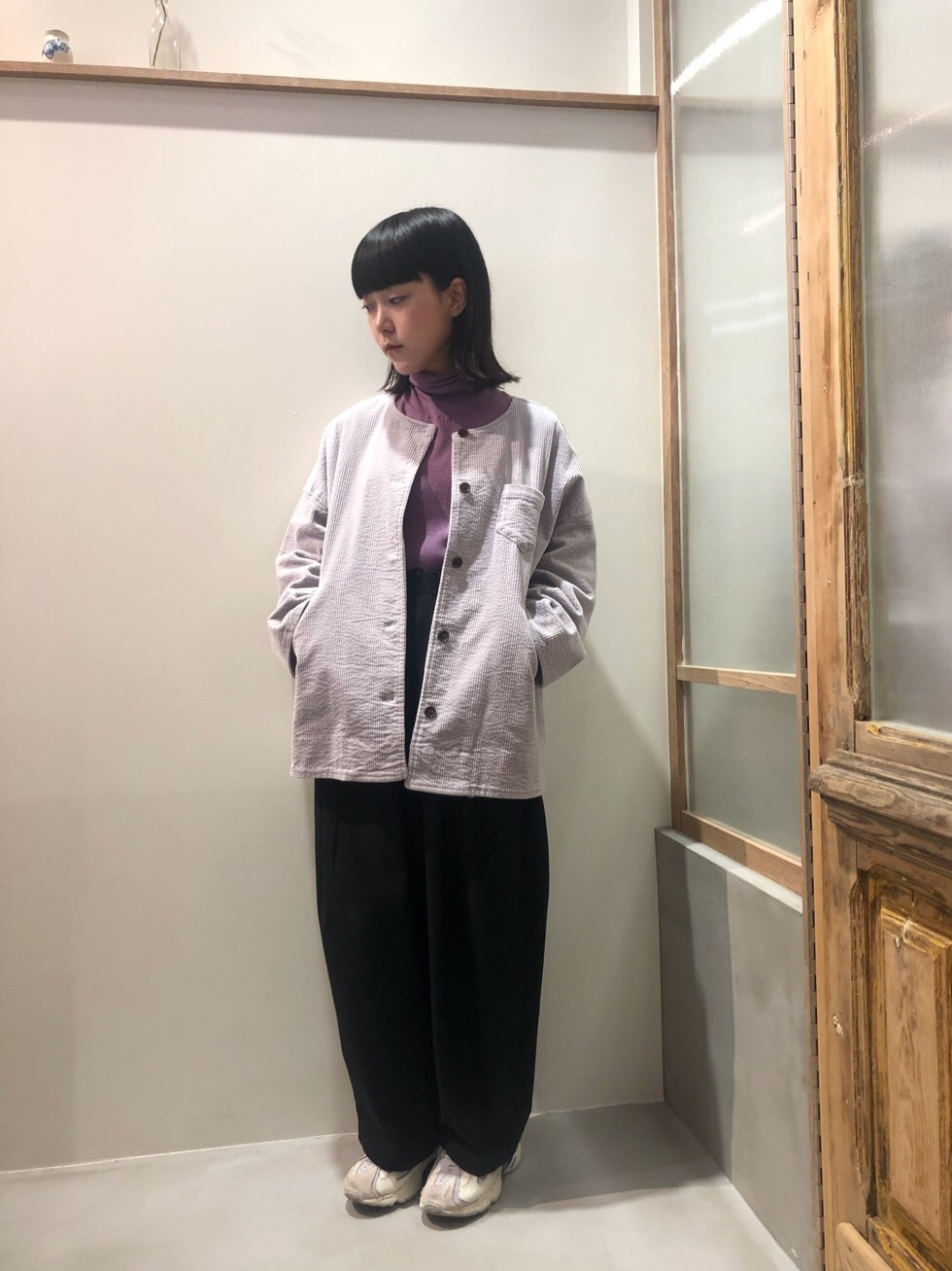bulle de savon 渋谷スクランブルスクエア 身長:153cm 2019.11.16