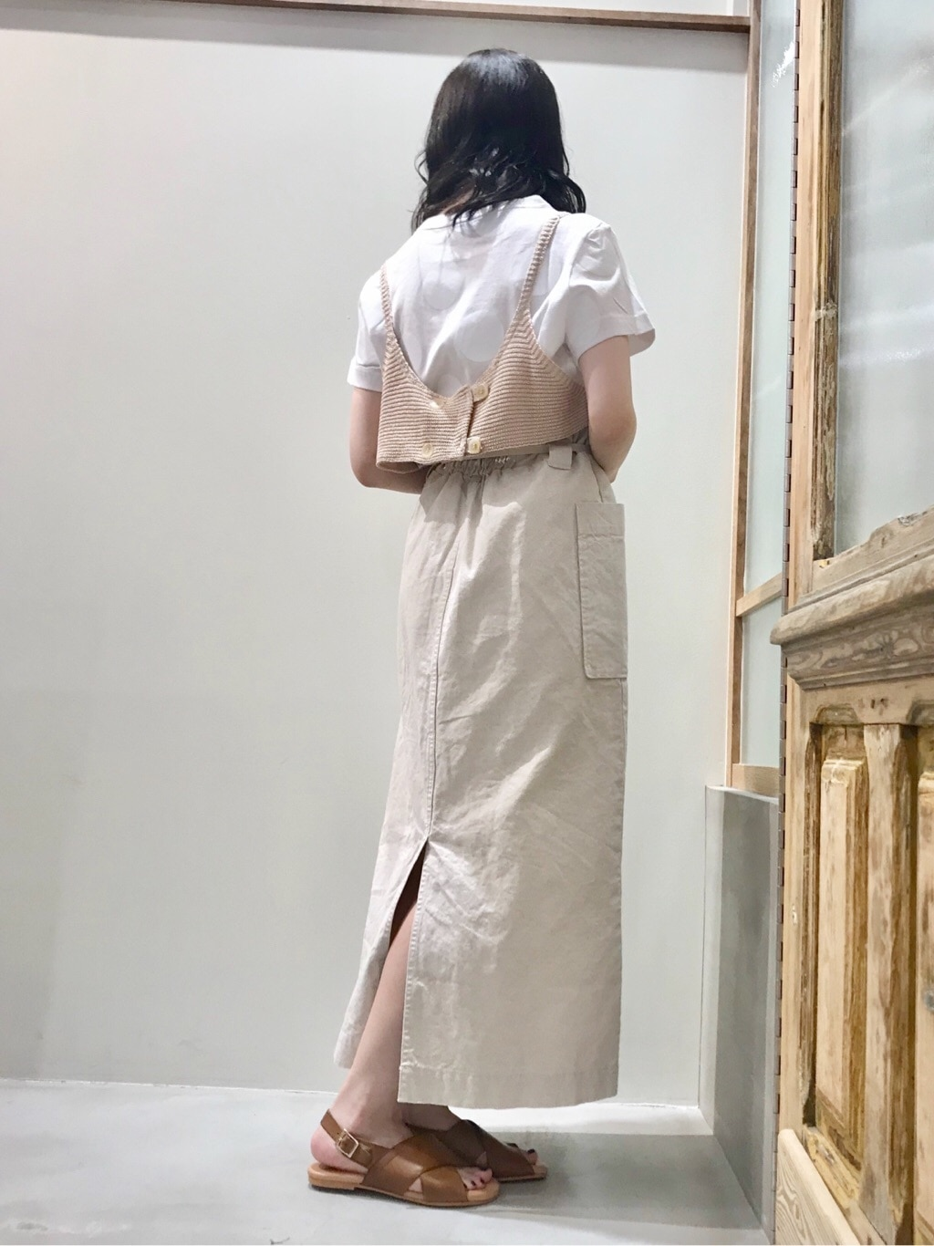 bulle de savon 渋谷スクランブルスクエア 身長:153cm 2020.07.28