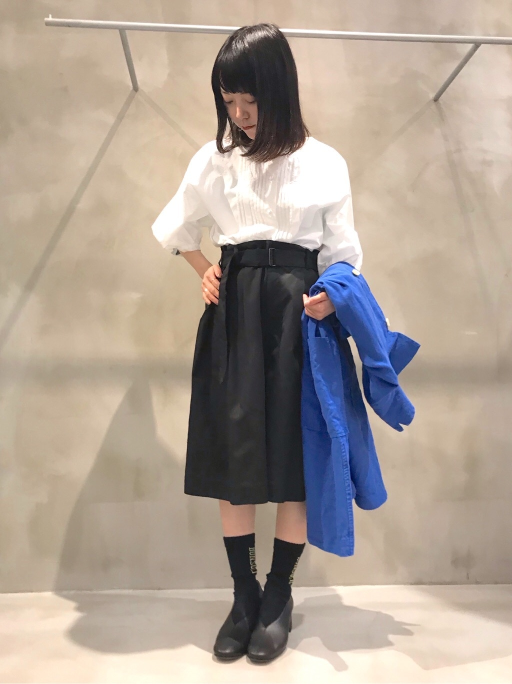 bulle de savon 渋谷スクランブルスクエア 身長:153cm 2020.04.04