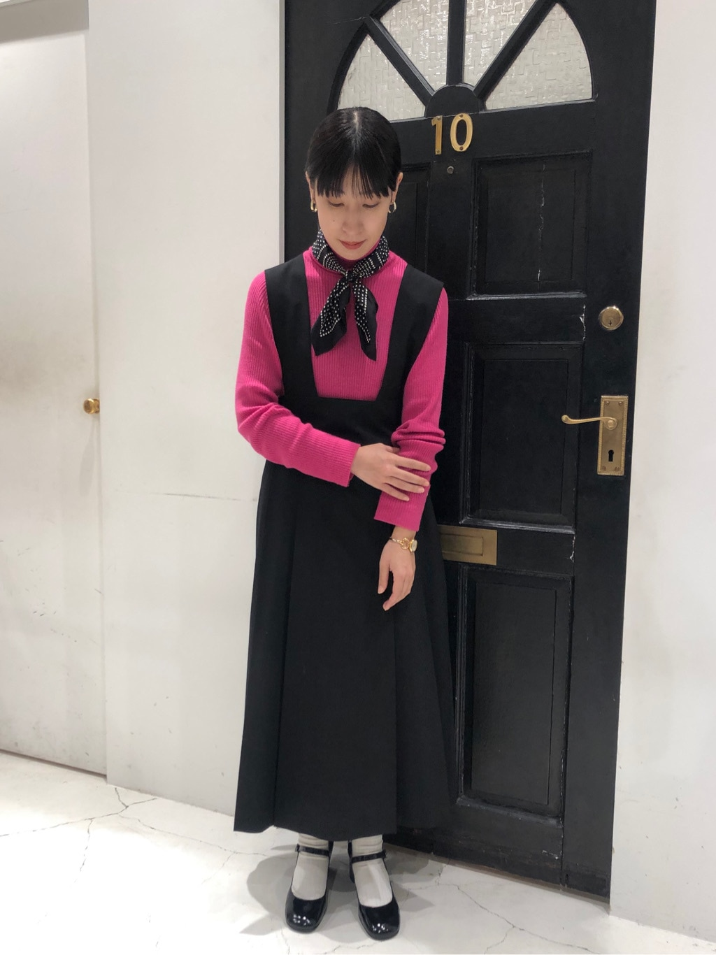 Dot and Stripes CHILD WOMAN ルクアイーレ 身長:151cm 2020.11.11