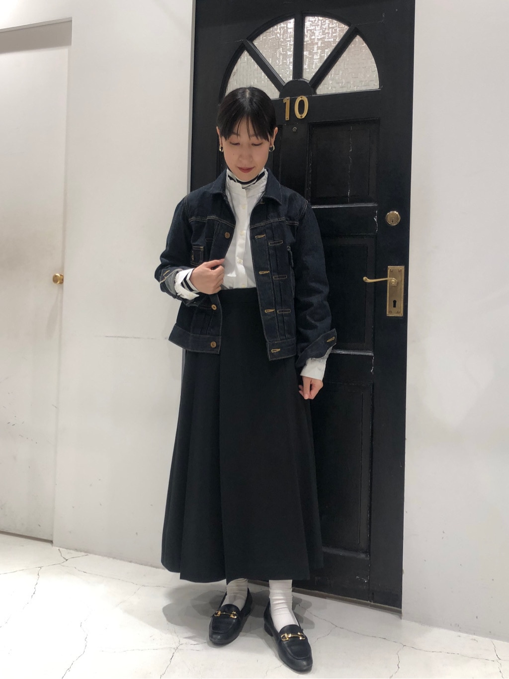Dot and Stripes CHILD WOMAN ルクアイーレ 身長:151cm 2020.12.24