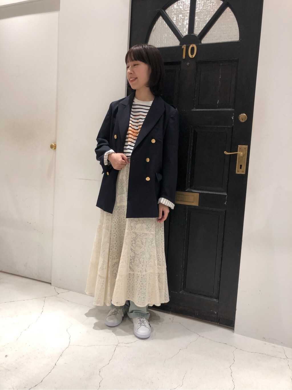 Dot and Stripes CHILD WOMAN ルクアイーレ 身長:150cm 2020.04.08