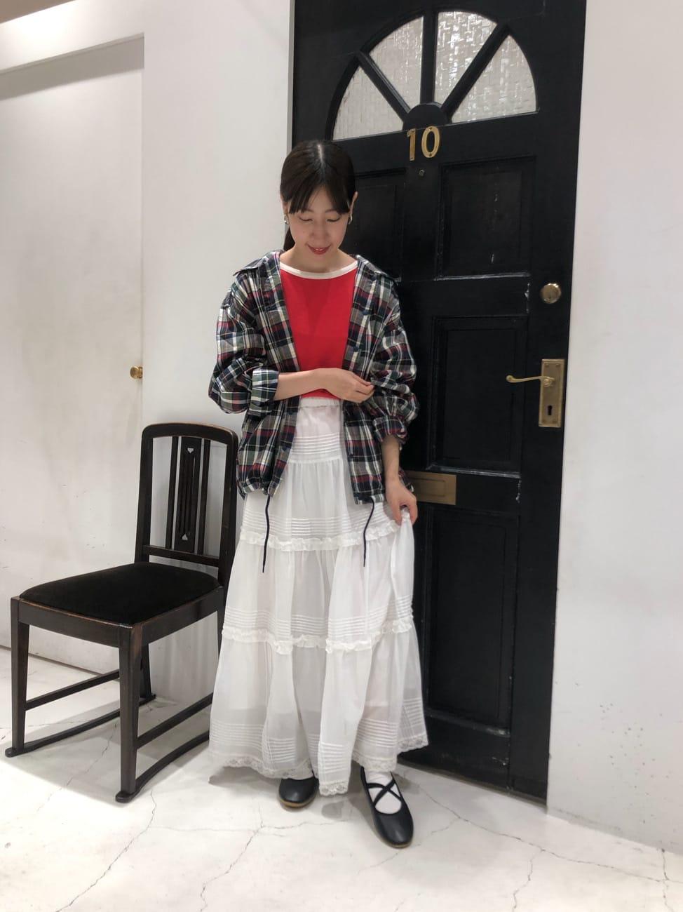 Dot and Stripes CHILD WOMAN ルクアイーレ 身長:151cm 2021.08.17