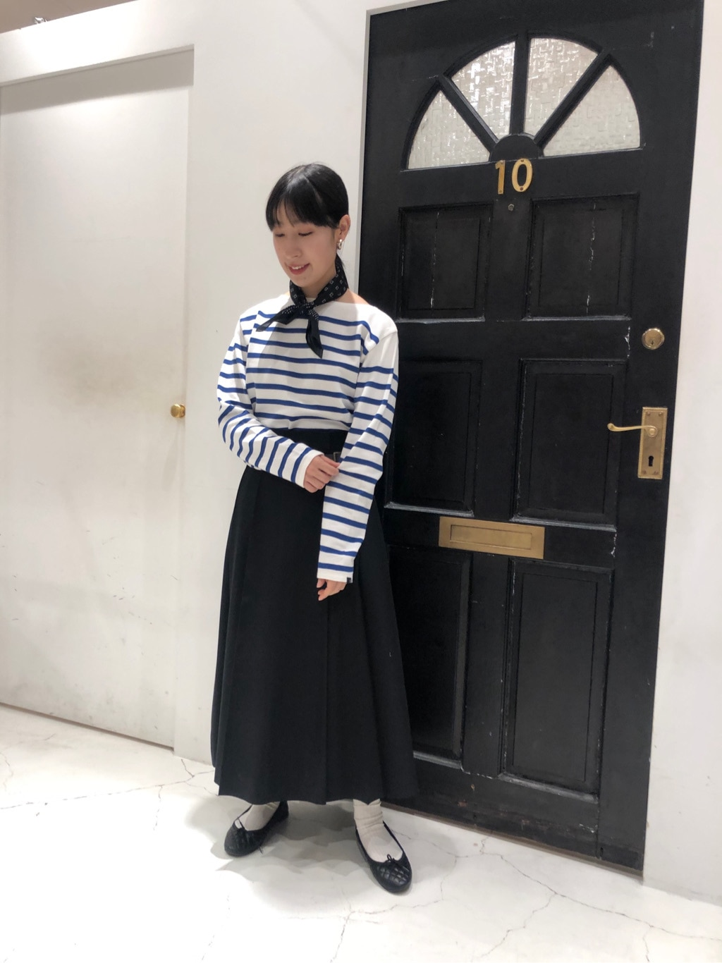 Dot and Stripes CHILD WOMAN ルクアイーレ 身長:151cm 2021.02.17