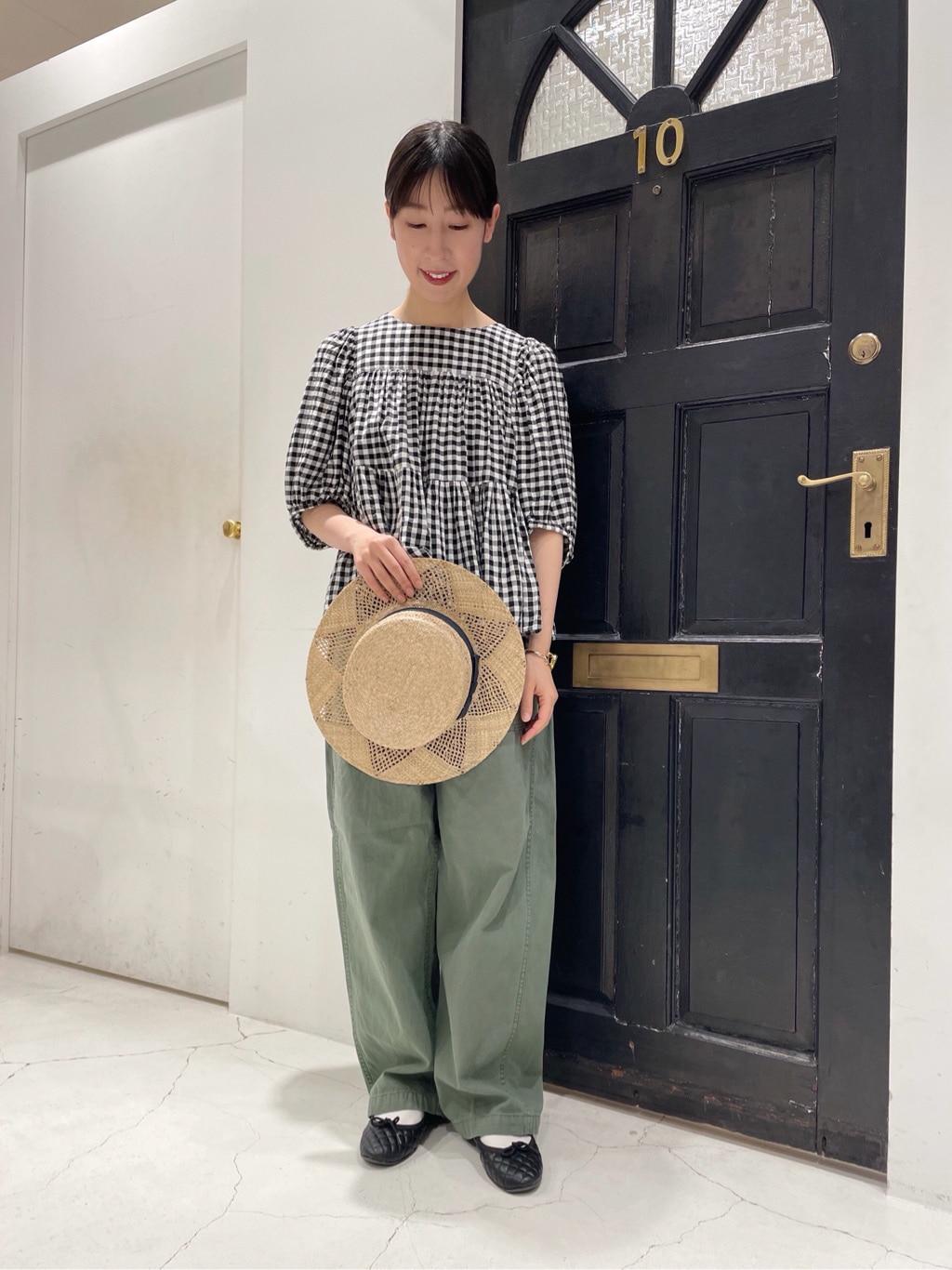 Dot and Stripes CHILD WOMAN ルクアイーレ 身長:151cm 2021.04.16