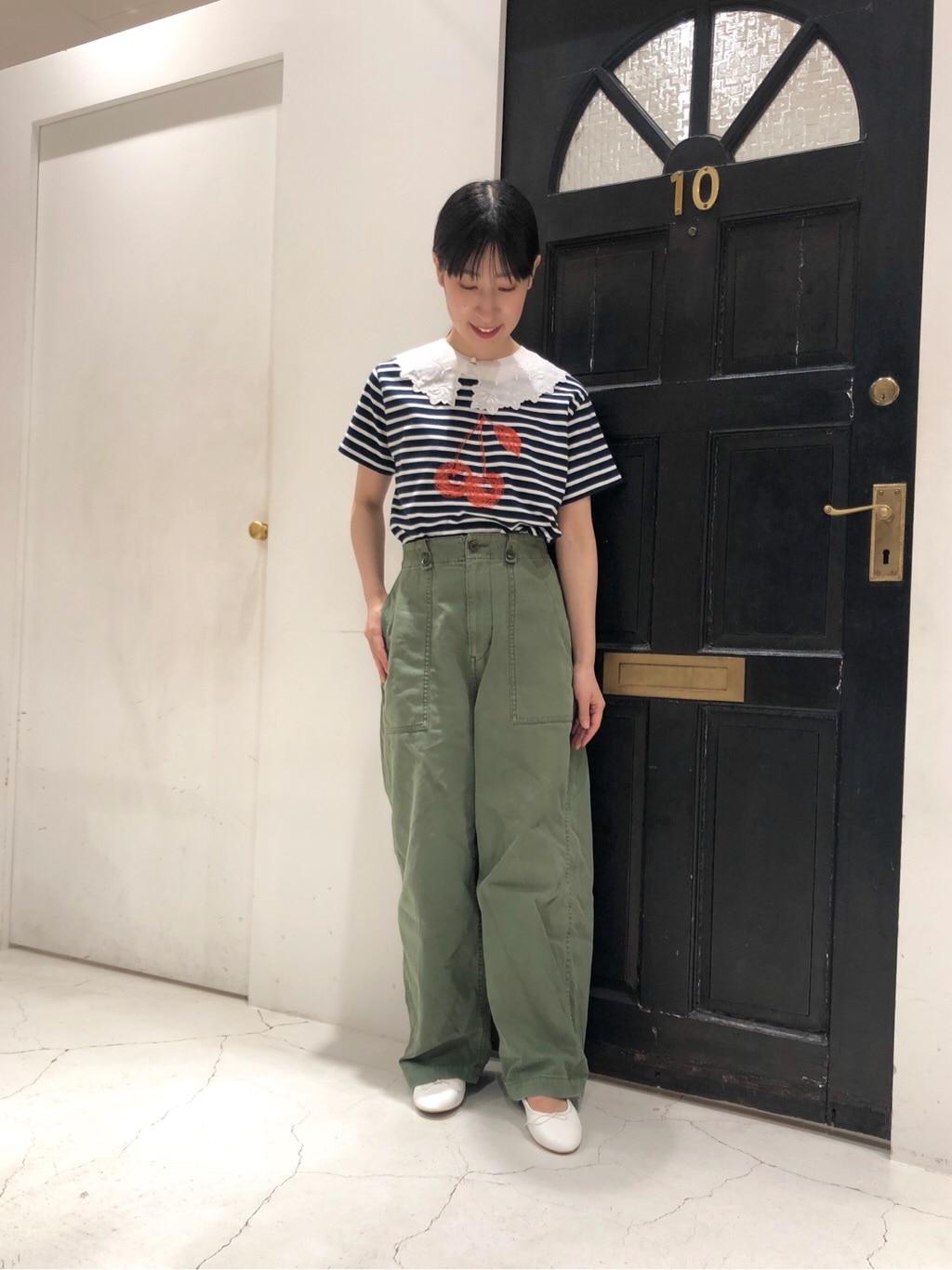 Dot and Stripes CHILD WOMAN ルクアイーレ 身長:151cm 2021.06.05