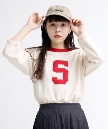 ○10/-オールドヴィンテージ天竺フットボールTシャツ