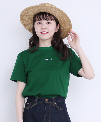 △〇CERISE プリント半袖Tシャツ
