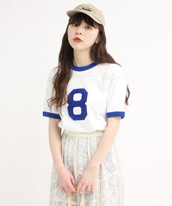 △10/-オールドヴィンテージ天竺リンガーTシャツ
