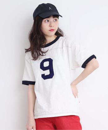 10/-オールドヴィンテージ天竺リンガーTシャツ