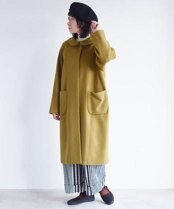 ○super100 Wool ステンカラーコート