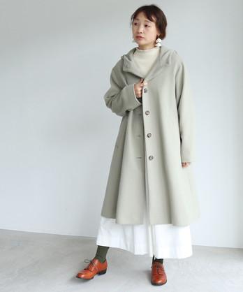 ○super100 Wool フードコート