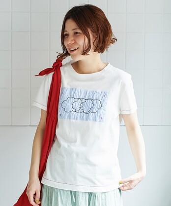 ○ならびmoku 刺繍Tシャツ