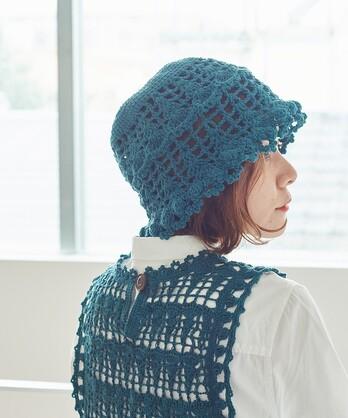 〇ネパールハンドニットかぎ針編みハット