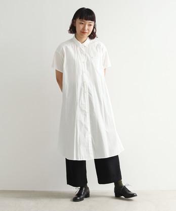 △itsumo 半袖シャツワンピース