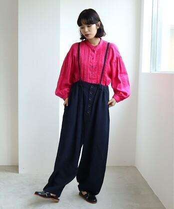○40/LINEN washer スノーパンツ