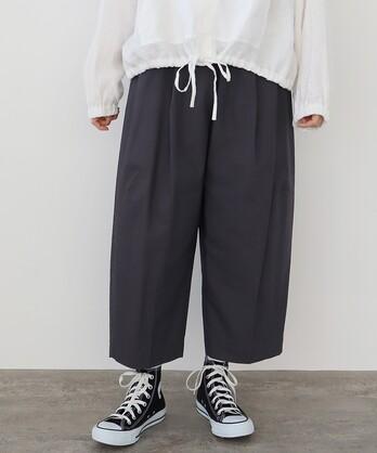 △馬布 タックパンツ