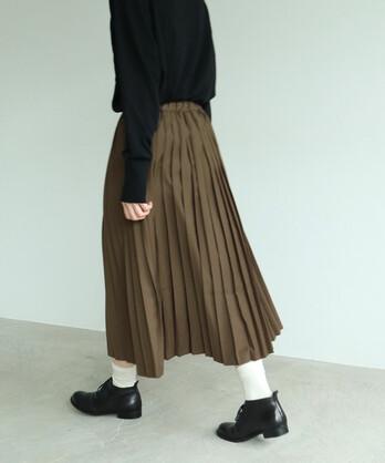 T/R プリーツスカート