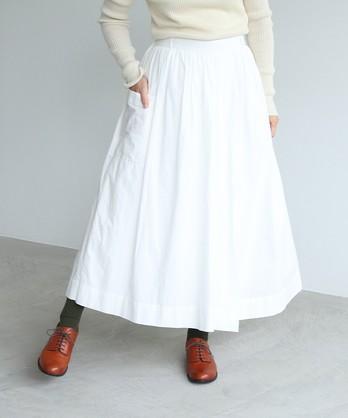 △コットンローン ギャザースカート