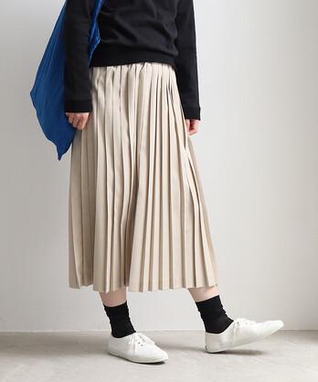 △プリーツスカート