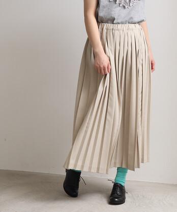 △ロングプリーツスカート