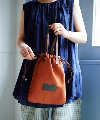 ○sokomade 巾着BAG