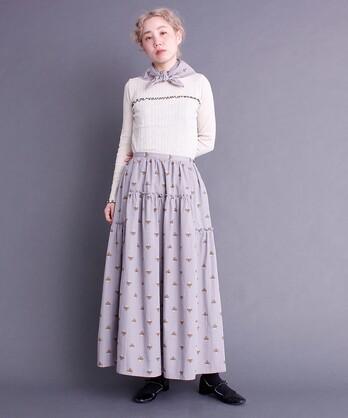 ●〇ストロベリープリント スカート