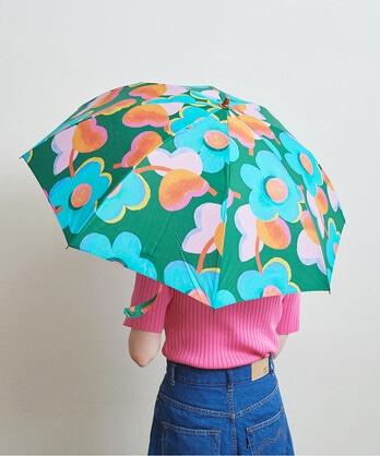 △〇LBサマーオブラブ 折り畳み傘(晴雨兼用)